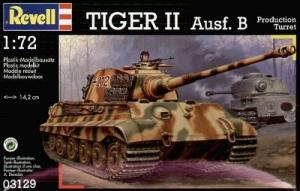 REVELL 1/72 03129 TIGER II Ausf.B