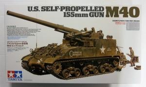 TAMIYA 1/35 35351 M40 US SELF PROPELLED 155mm GUN
