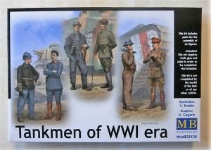 MASTERBOX 1/35 35134 TANKMEN OF WWI ERA