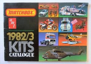 MATCHBOX  MATCHBOX 1982/3 KIT CATALOGUE