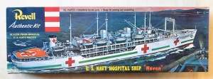 REVELL  H-320 HOSPITAL SHIP HAVEN  RE-ISSUE