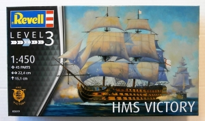 REVELL 1/450 05819 HMS VICTORY