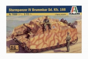 ITALERI 1/72 7050 STURMPANZER IV BRUMMBAR Sd.Kfz.166