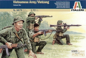 ITALERI 1/72 6079 VIETNAMESE ARMY/VIETCONG