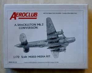 AEROCLUB 1/72 AVRO SHACKLETON Mk.2 CONVERSION