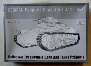 MAQUETTE 1/35 35001 GERMAN Pz.Kpfw I SEPARATE TRACK LINKS