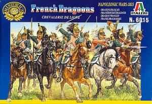 ITALERI 1/72 6015 NAPOLEONIC FRENCH DRAGOONS