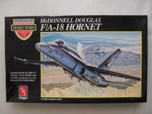 AMT 1/72 8703 McDONNELL DOUGLAS F/A-18 HORNET DESERT STORM