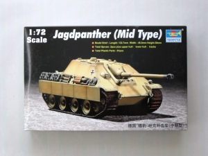TRUMPETER 1/72 07241 JAGDPANTHER MID TYPE