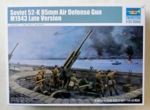 TRUMPETER 1/35 02342 SOVIET 52-K 85mm AIR DEFENSE GUN M1943 LATE VERSION