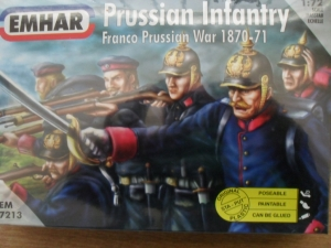 EMHAR 1/72 7213 PRUSSIAN INFANTRY