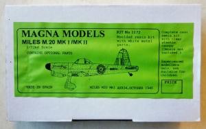 MAGNA 1/72 1172 MILES M20 Mk.I/Mk.II