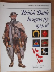 OSPREY  182. BRITISH BATTLE INSIGNIA  1  1914-18