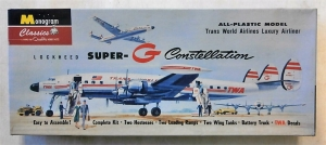 MONOGRAM CLASSICS  0019 SUPER-G CONSTELLATION TWA