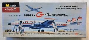 MONOGRAM CLASSICS  0019 SUPER-G CONSTELLATION TWA