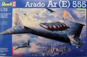REVELL 1/72 04367 ARADO Ar  E  555