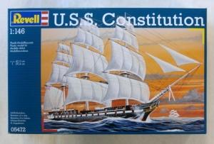 REVELL  05472 USS CONSTITUTION 1/146