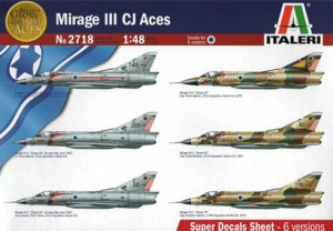 ITALERI 1/48 2718 MIRAGE III CJ ACES