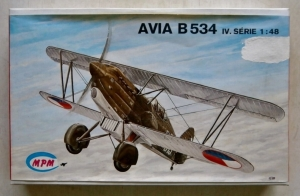 MPM 1/48 AVIA B534 IV SERIE