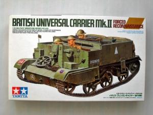 TAMIYA 1/35 35249 UNIVERSAL CARRIER Mk.II FORCED RECON