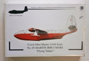 CZECH MASTER RESIN 1/144 05 MARTIN JRM-3 MARS FLYING TANKER