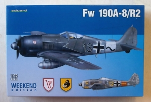 EDUARD 1/72 7430 FOCKE-WULF Fw 190A-8 R2 WEEKEND EDITION