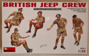 MINIART 1/35 35051 BRITISH JEEP CREW