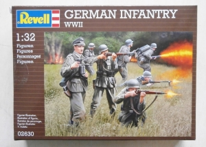 REVELL 1/32 02630 GERMAN INFANTRY WWII