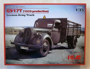 ICM 1/35 35413 G917T 1939 PRODUCTION GERMAN ARMY TRUCK