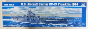 TRUMPETER 1/350 05604 US AIRCRAFT CARRIER CV-13 FRANKLIN  UK SALE ONLY