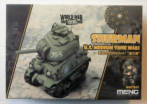MENG  001 TIGER I WORLD WAR TOONS