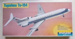 MASTERMODEL 1/100 1015 TUPOLEV Tu-154 AEROFLOT
