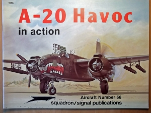 SQUADRON/SIGNAL AIRCRAFT IN ACTION  1056. A-20 HAVOC