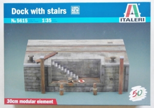 ITALERI 1/35 5615 DOCK WITH STAIRS