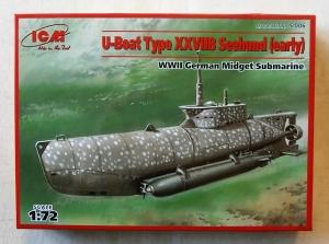 ICM 1/72 S006 U-BOAT TYPE XXVIIB SEEHUND EARLY