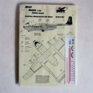 WELSH MODELS 1/144 SL102 ARMSTRONG WHITWORTH AW 650 ARGOSY