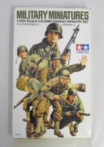 TAMIYA 1/35 35192 US ARMY ASSAULT INFANTRY