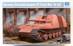 TRUMPETER 1/35 01540 GERMAN GESCHUTZWAGEN IV