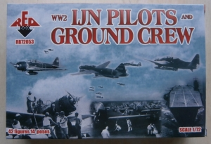 RED BOX 1/72 72053 IJN PILOTS   GROUND CREW