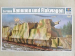 TRUMPETER 1/35 01511 GERMAN KANONEN UND FLAKWAGEN  UK SALE ONLY