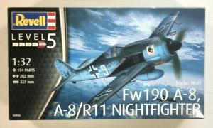 REVELL 1/32 03926 FOCKE-WULF Fw190 A-8 A-8/R11 NIGHTFIGHTER