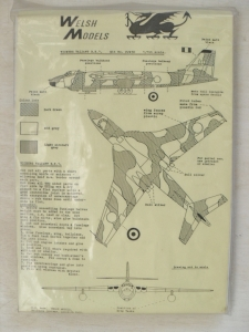 WELSH MODELS 1/144 PJW30 VICKERS VALIANT B.K.I