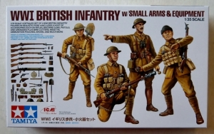 TAMIYA 1/35 32409 WWI BRITISH INFANTRY WITH SMALL ARMS   EQUIPMENT