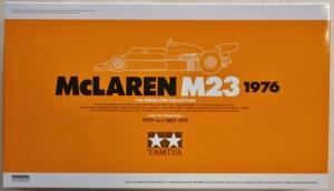 TAMIYA 1/20 20062 McLAREN M23 1976