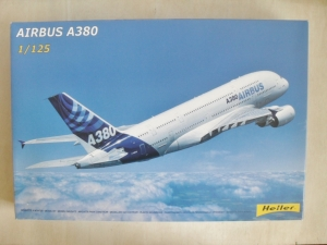 HELLER 1/125 80438 AIRBUS A380  UK SALE ONLY