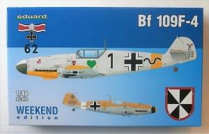 EDUARD 1/48 84146 MESSERSCHMITT Bf 109F-4