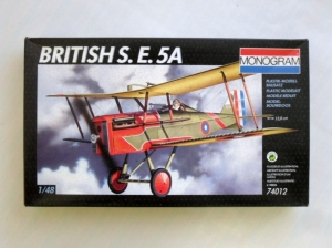 MONOGRAM 1/48 74012 BRITISH S.E 5A