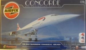 AIRFIX 1/72 11050 BAC/AEROSPATIALE CONCORDE  UK SALE ONLY