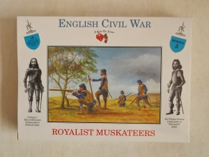 CALL TO ARMS 1/32 03 ROYALIST MUSKETEERS
