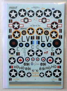 XTRADECAL 1/72 72273 NA B-25C MITCHELL COLLECTION